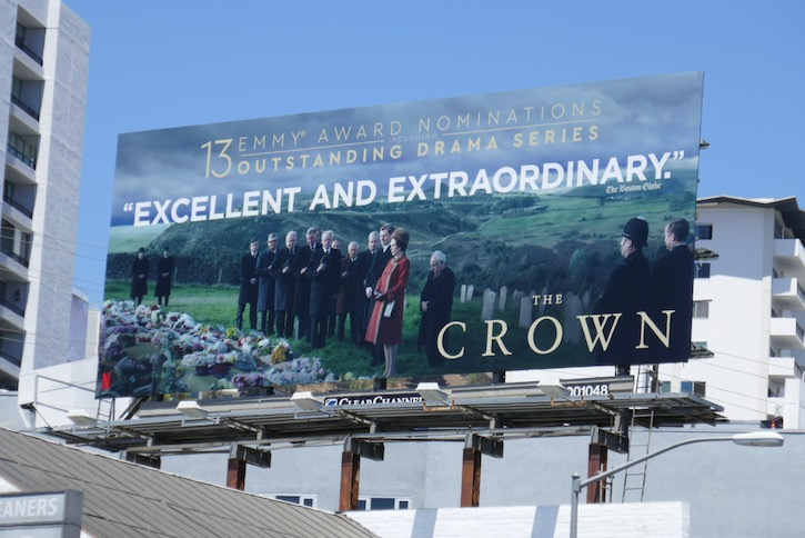 Crown season 3 Emmy nominations billboard