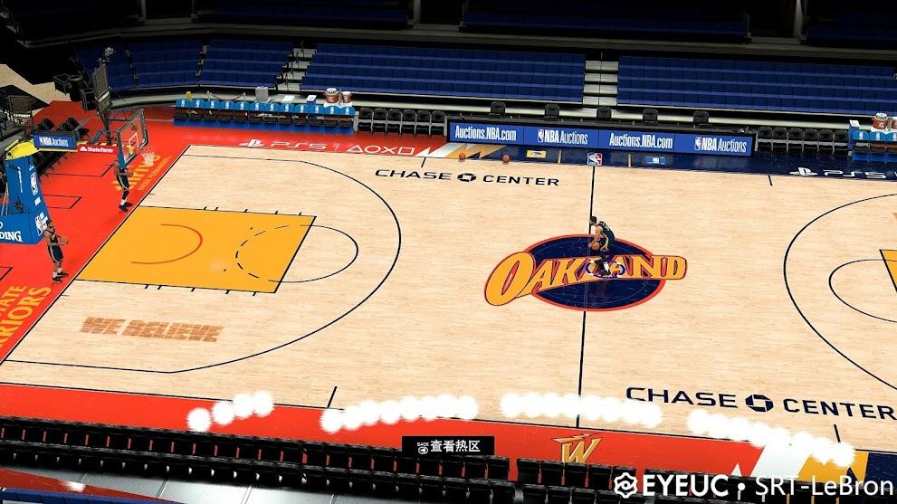 NBA 2K21 Golden State Warriors Official City Court V1.6 by SRT-Lebron