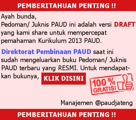Ebook Alur Perencanaan Pembelajaran PAUD Kurikulum 2013