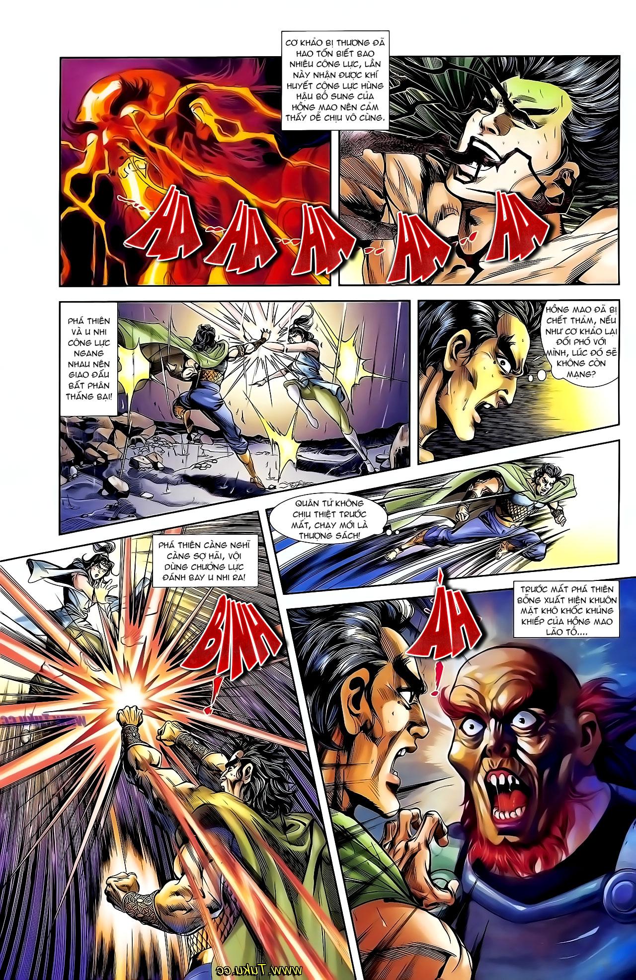 Cơ Phát Khai Chu Bản chapter 130 trang 12