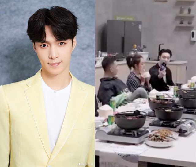 Lay Zhang Reveals that He Has His EXO Bandmates as His Wallpaper and They Meet Often When in Korea