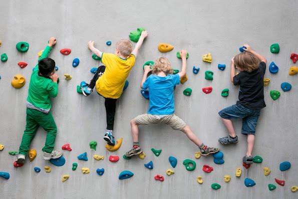 Клуб детского скалолазания O'Skal открыл новый сезон в бизнес-центре «Нагатинский»