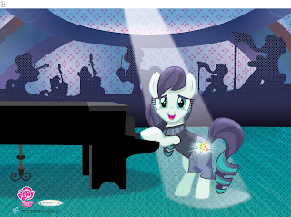 MLP Ponycon 2016 3D Coloratura Poster by Enterplay