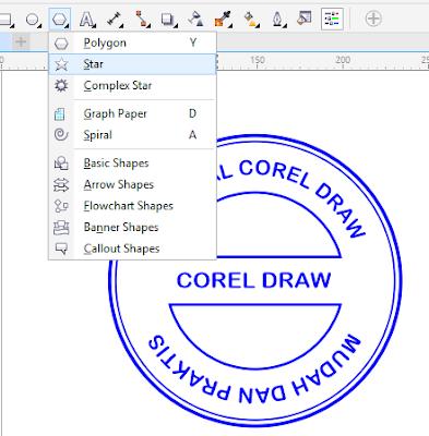 Cara Membuat Stempel Kurang Dari 10 Menit Di Corel Draw Halaman Tutor