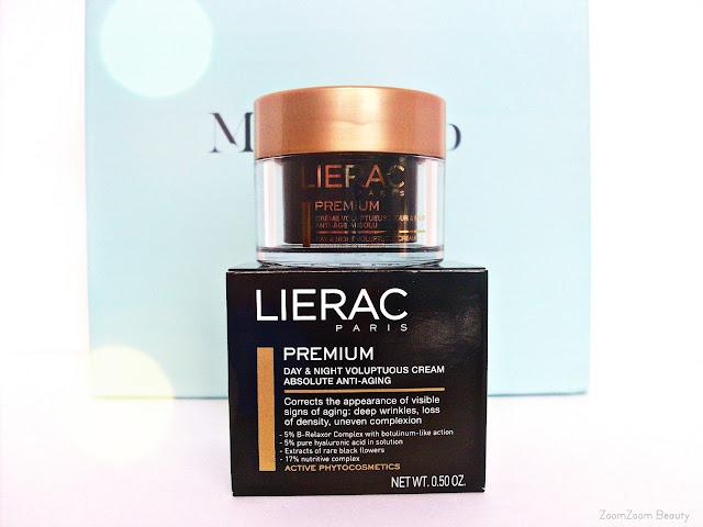 Lierac premium creme voluptueuse, Beauty box, коробочка красоты, коробочка с миниатюрами, миниатюры косметики, отзывы, бьюти блогер
