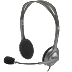 Headset LOGITECH  H110  ( colokan 2) | Gistech Bali Computer