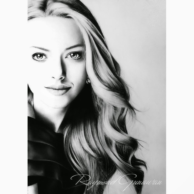 01-Amanda-Seyfried-Raymond-Gunawan-Minimalist-Celebrity-Drawings-mostly-Black-and-White-www-designstack-co