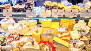 A display of Cheese, Very much not Dairy-free