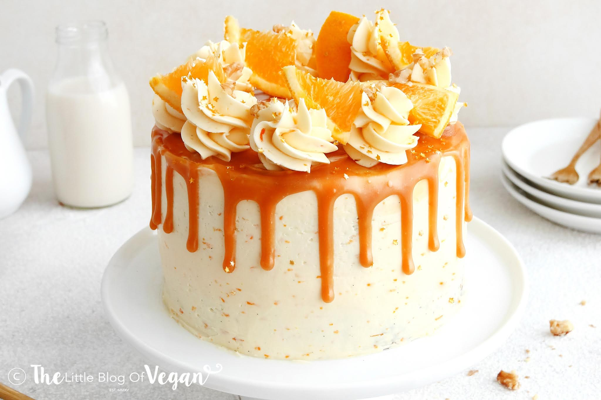 The BEST Vegan Carrot Cake