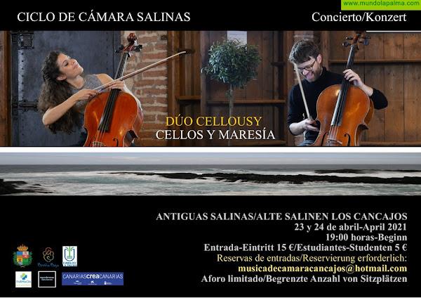 """SALINAS: """"Duo Cellousy"""" en dos días"""