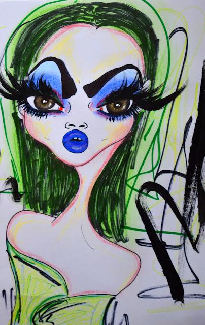 Bebee Pino lady in green