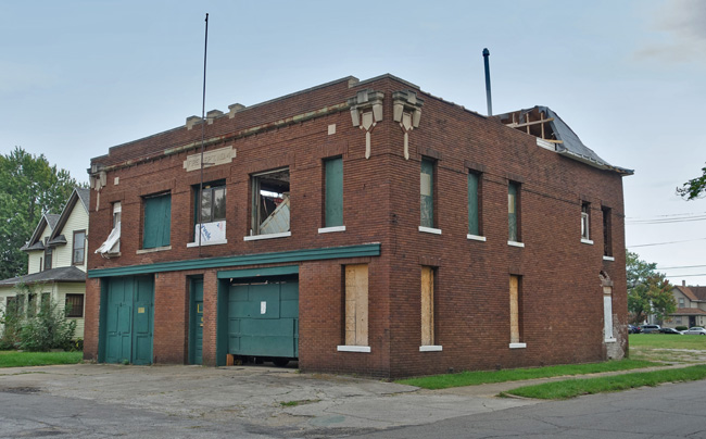 Abandoned Firehouse in South Bend Indiana