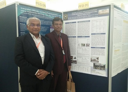 With Professor Dr. Mainul Hoque at IMEC-2016, Malaysia