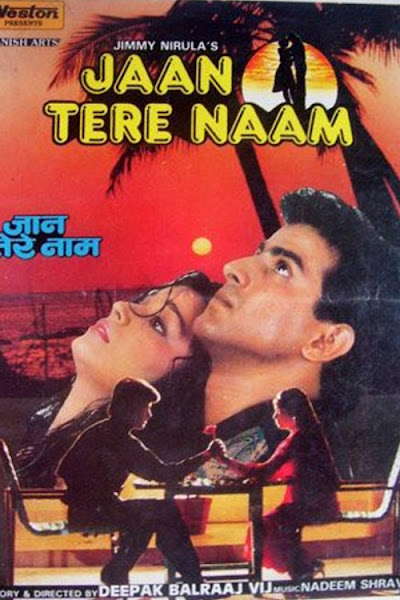 Poster Of Jaan Tere Naam 1997 720p Hindi HDRip Full Movie Download