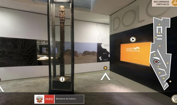 Recorrido Virtual: Visita el Museo de Sitio Pachacamac desde tu casa