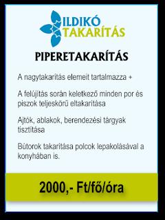 ILDIKÓ TAKARÍTÁS - Piperetakarítás árak