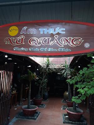 Ẩm Thực Xứ Quảng ミークアンが美味しいダナンのお店