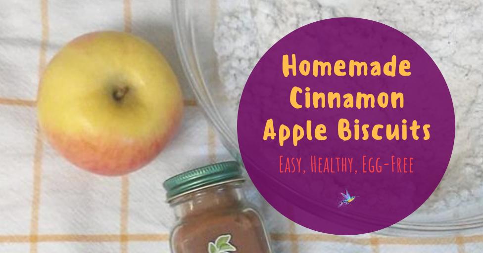 The Peculiar Treasure Easy Apple Cinnamon Biscuits Recipe Egg Free