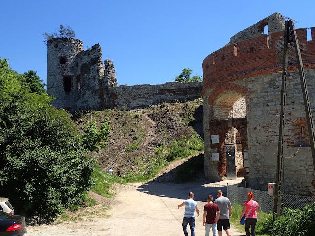 Twierdza w Rudnie, główne (i teraz jedyne) wejście