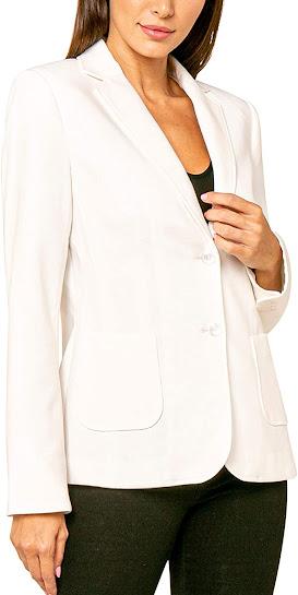 Women's White Blazers