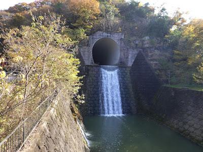 天野川トンネル 出口