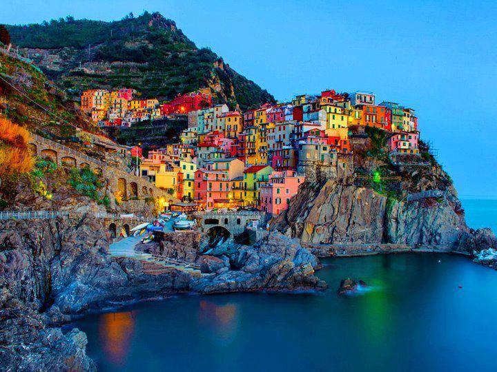 Le Cinque Terre Italy City Wallpaper Hd Collection Zone