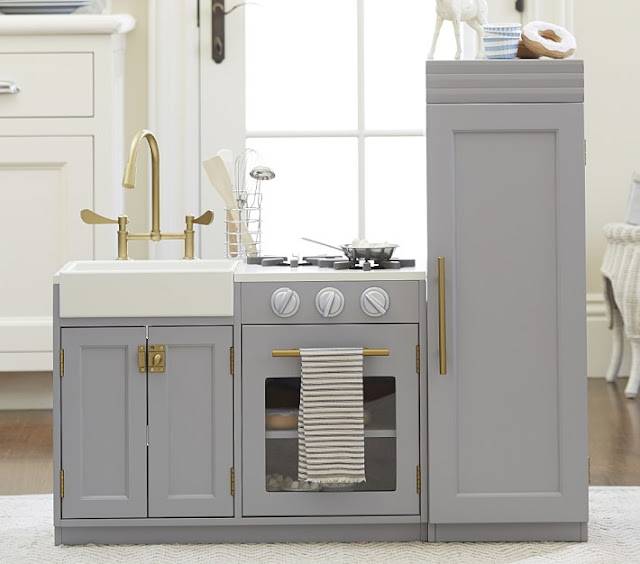 Look for Less Pottery Barn Chelsea Kitchen