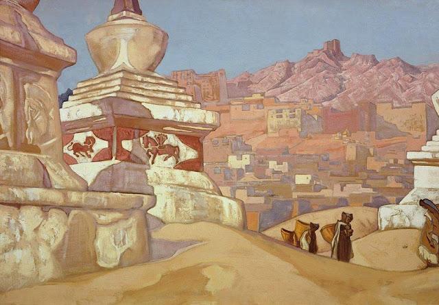 Николай Рерих - Конь счастья. 1925