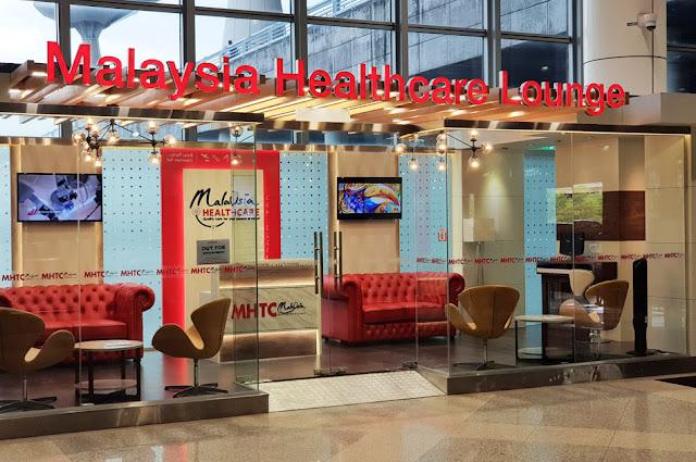 Malaysia Healthcare Travel Council Lounge