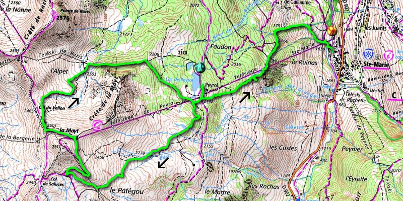 La Mayt loop track