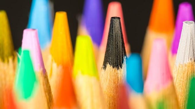 Papel de Parede Lápis de Cor Colorido