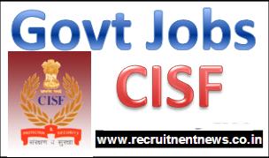 cisf jobs