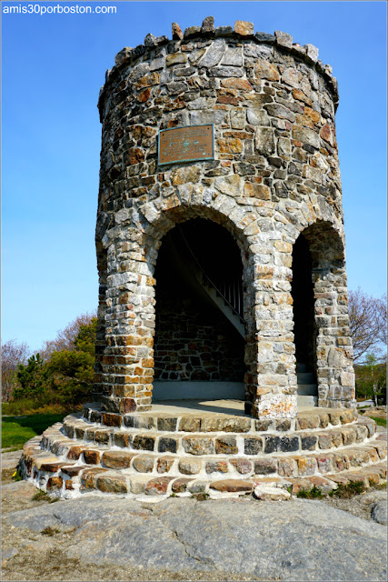 Torre en Mount Battie, Camden