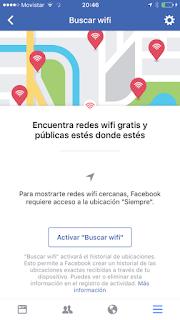 buscar wi fi facebook