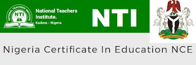 Nigeria Certificate in Education (NCE) in NTI