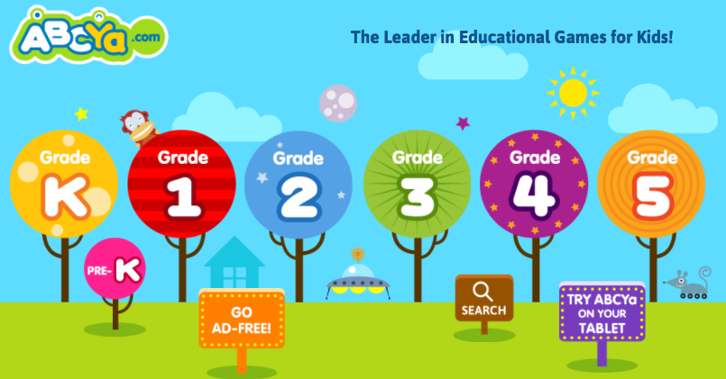Free Www abcya com 4th grade Games  KidzSearch