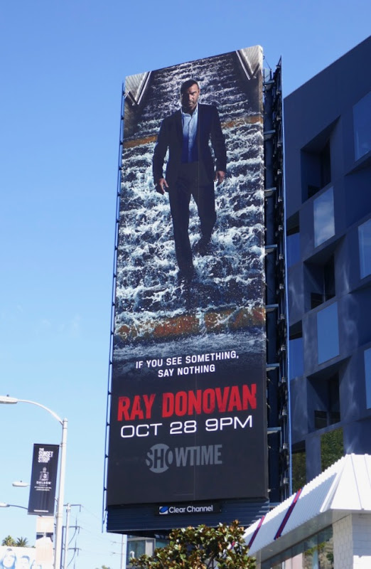 Ray Donovan season 6 see something say nothing billboard