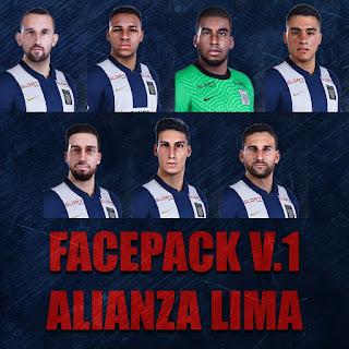 PES 2021 Facepack V1 Alianza Lima