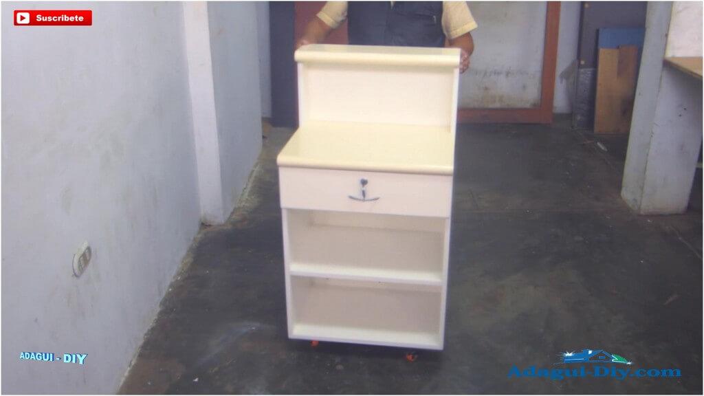 Muebles para la cocina de melamine como hacer pr ctico for Como hacer muebles para cocina