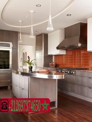 Platre cuisine for Platre decor 2016