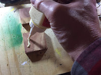 Gluing the squares together