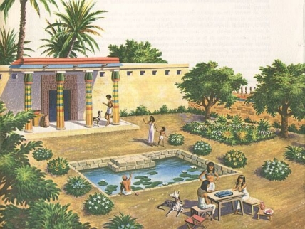 ancient egypt luxury home