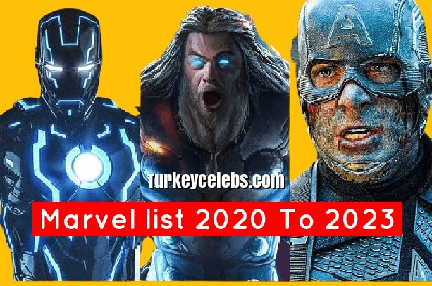 Marvel list what marvel movies are coming out in 2020 and 2023.