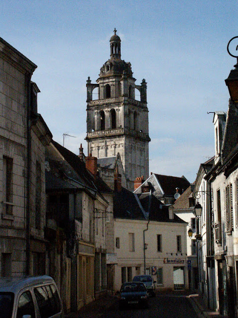 Tour Saint Antoine, Loches.  Indre et Loire, France. Photographed by Susan Walter. Tour the Loire Valley with a classic car and a private guide.