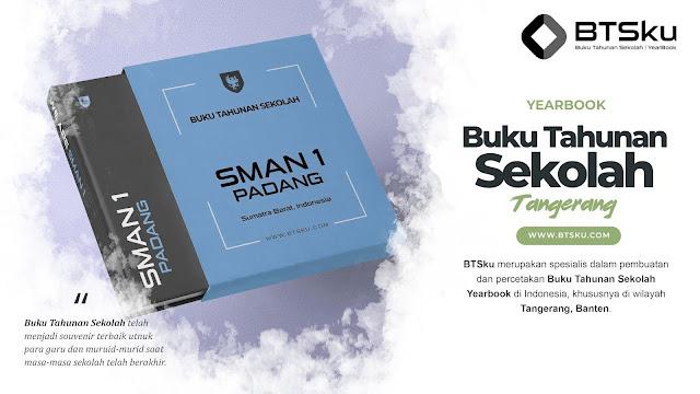 Buku Tahunan Sekolah Yearbook Kota Tangerang