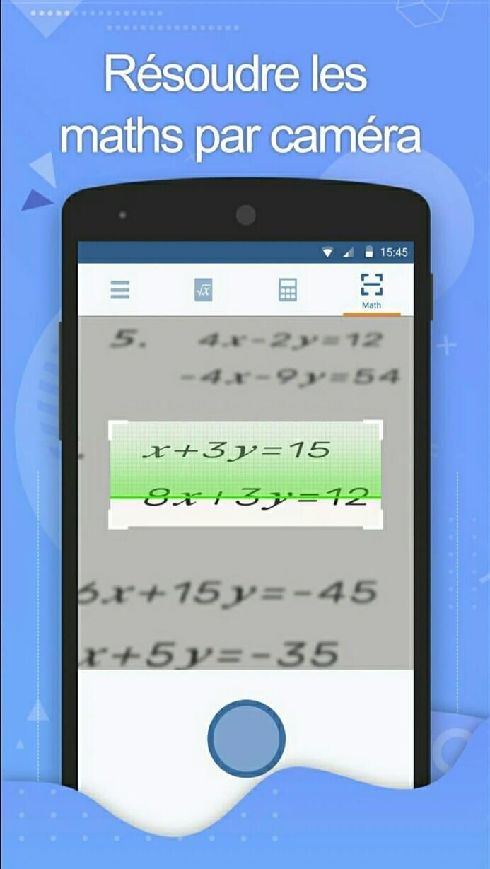 تطبيقين رائعين للتلاميذ و الطلاب لحل المسائل و المعادلات الرياضية