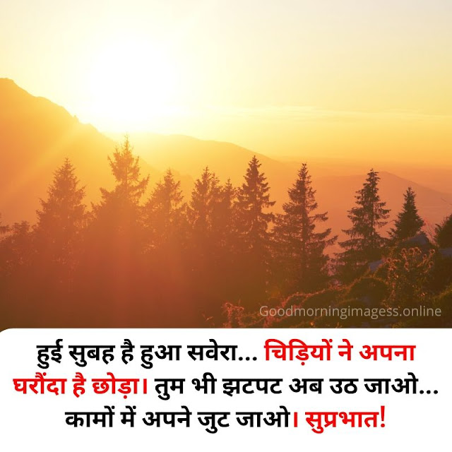 good morning images with quotes in hindi on smitcreation