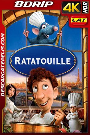 Ratatouille (2007) 4k BDrip HDR Latino – Ingles