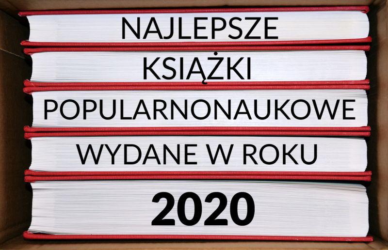 książki popularnonaukowe 2020