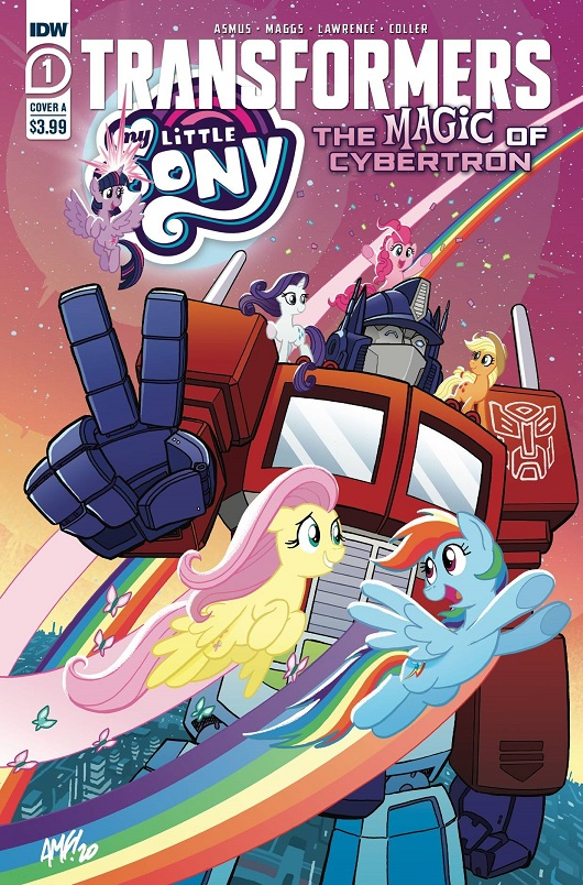 Cover of My Little Pony / Transformers II #1